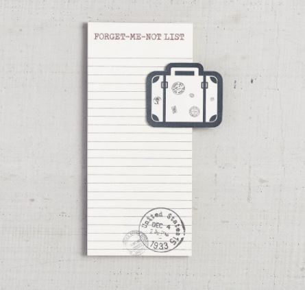 Forget-Me-Not Notepad