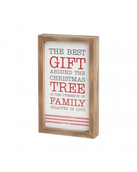 Best Gift is Family - Sign