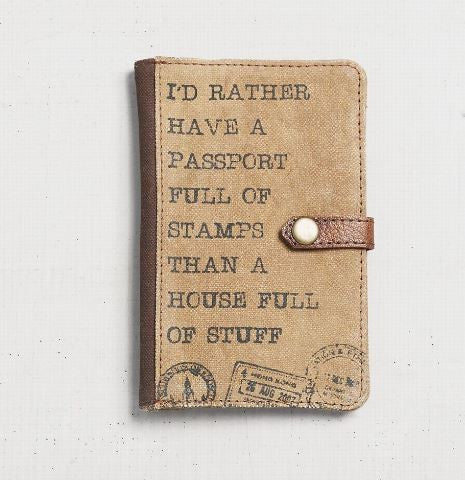 Full of Stamps - Passport Case