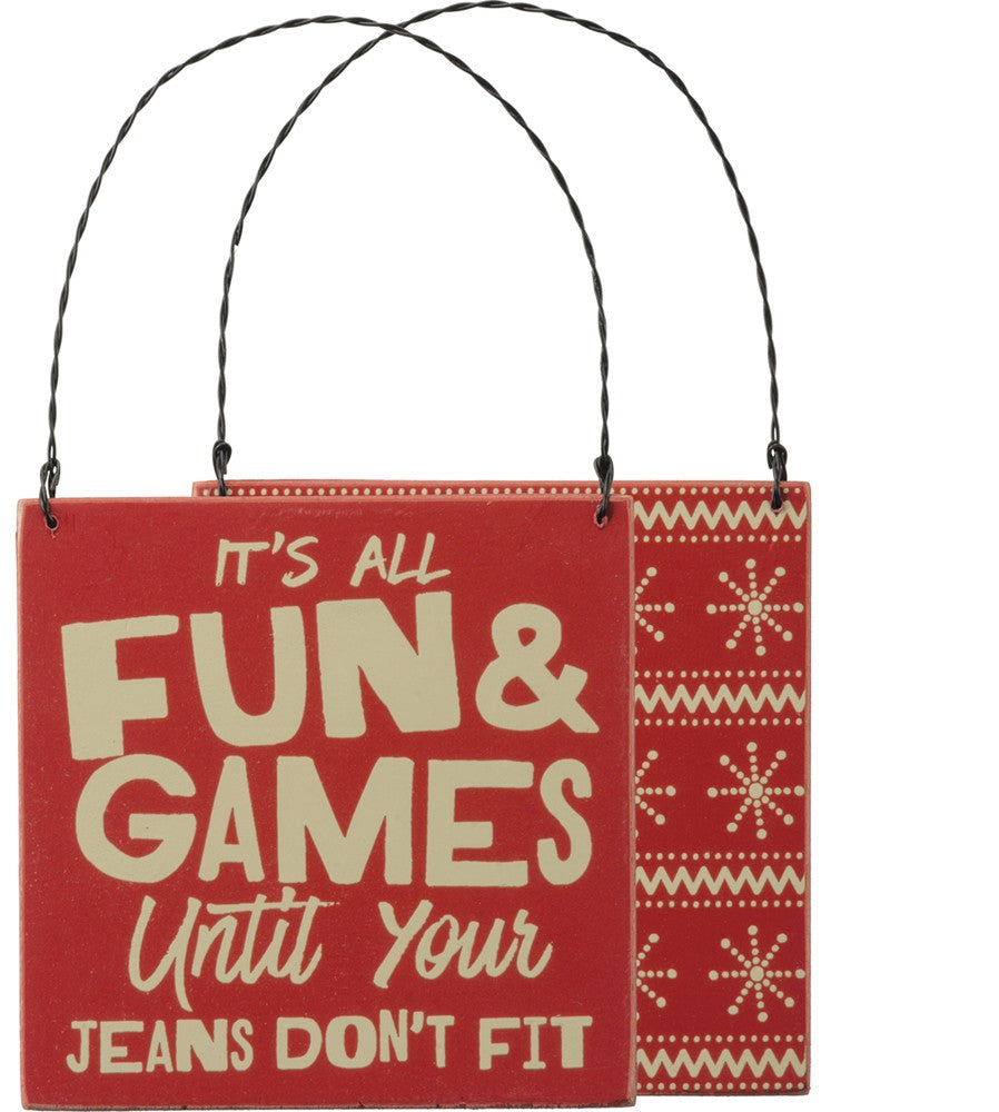 Fun & Games Ornament
