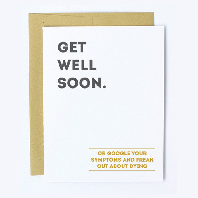 Google Symptoms - Note Card