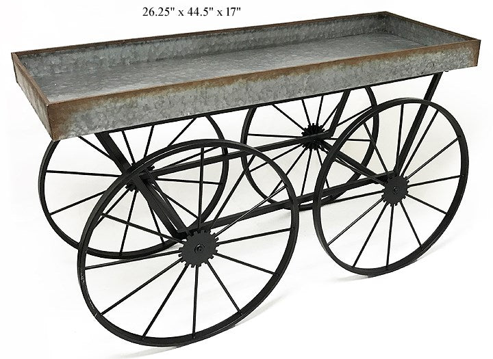 Flower Cart Display/ Plant Stand