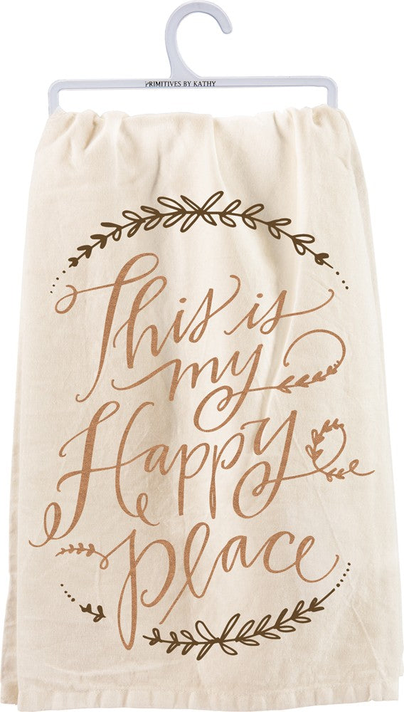 Happy Place - Dish Towel