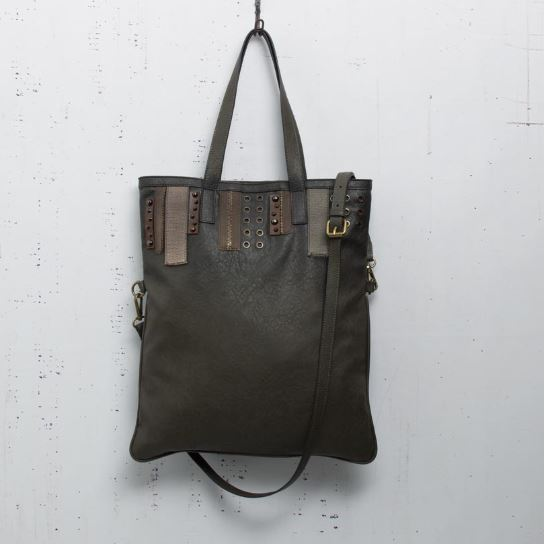 Haute Fold-Over Tote Bag - Gunmetal