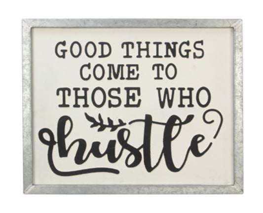 Hustle - Wall Art