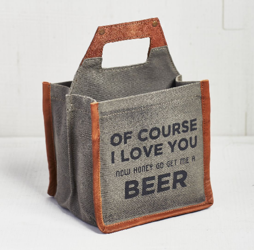 Of Course I Love You - Beer Caddy