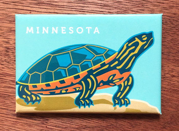 MN Painted Turtle Magnet