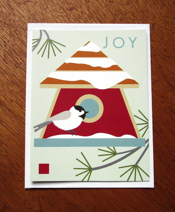 JOY Chickadee - Note Card