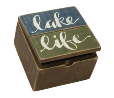 Lake Life - Wooden Box