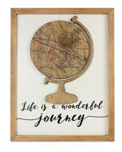 Life is a Wonderful Journey Sign