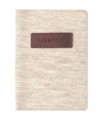 Linen & Leather - Passport Case
