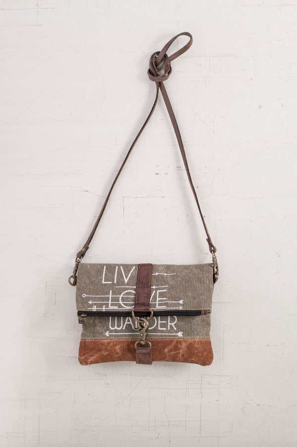 Live, Love, Wander - Cross Body