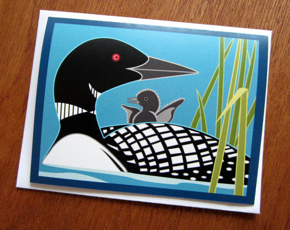 Minnesota Loons - Note Card