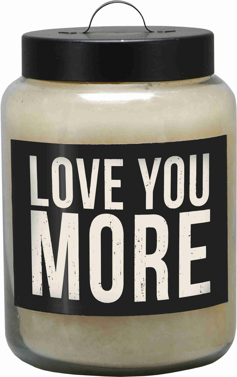 love you more scented candle