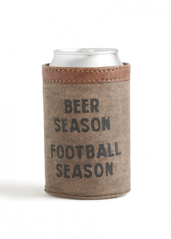 Beer Season, Football Season - Can Koozie