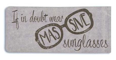 Massive Sunglasses - Glasses Case