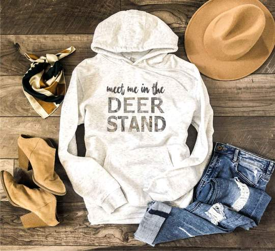 Meet Me in the Deer Stand Hoodie