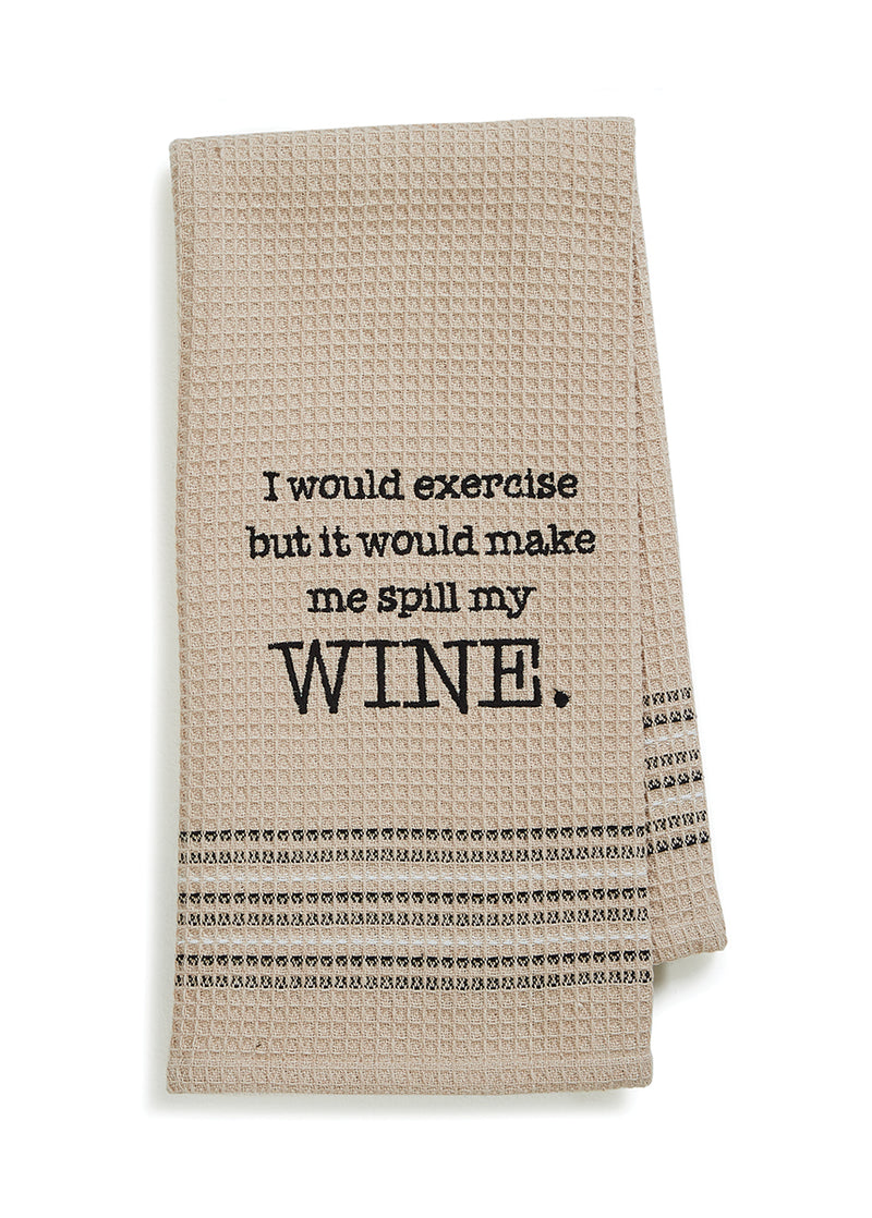 Wine - Dishtowel
