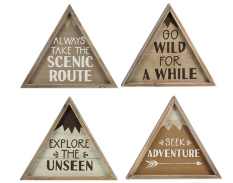 Adventure Mountain Signs