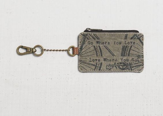 Vintage Bicycle - Coin Purse