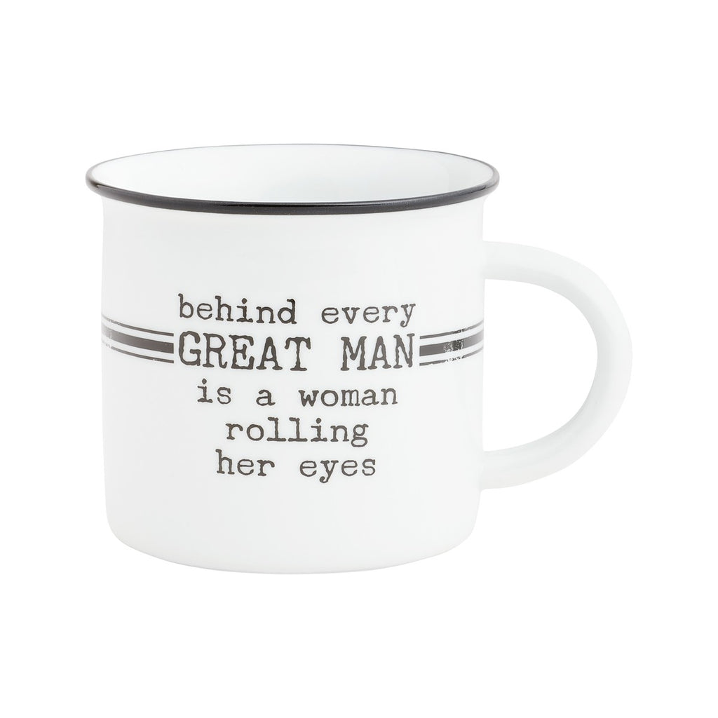 Behind Every Great Man - Mug