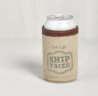 Ship Faced - Can Koozie