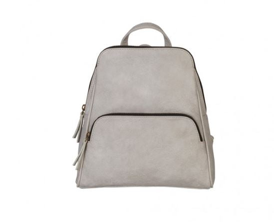 Grace Convertible Backpack - Silver