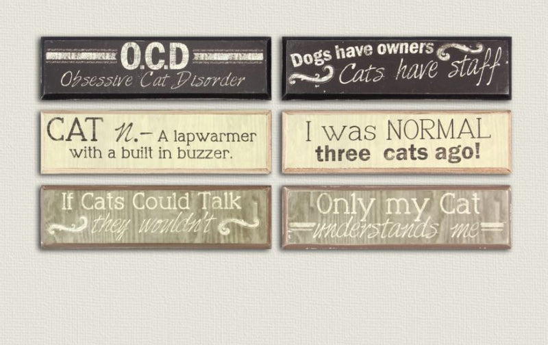 Small Cat Lover Signs