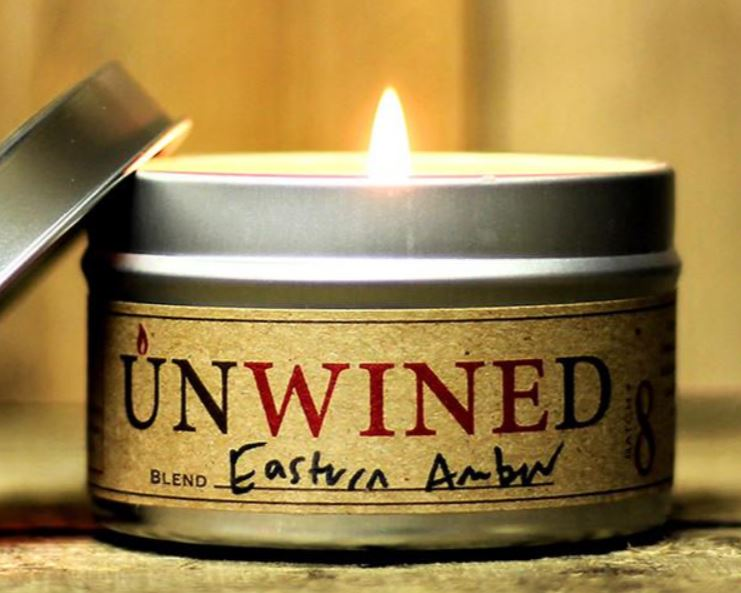 UnWINEd Travel Tin Soy Candles - multiple scents