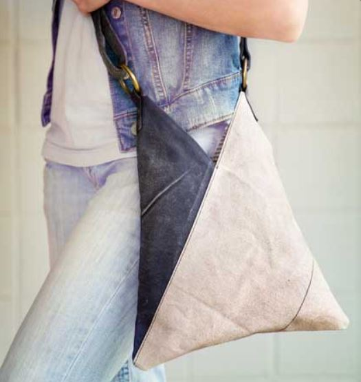 Triangle Cross Body Bag