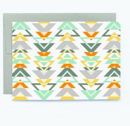 Triangles - Note Card