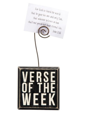 Verse of the Week - Photo Holder