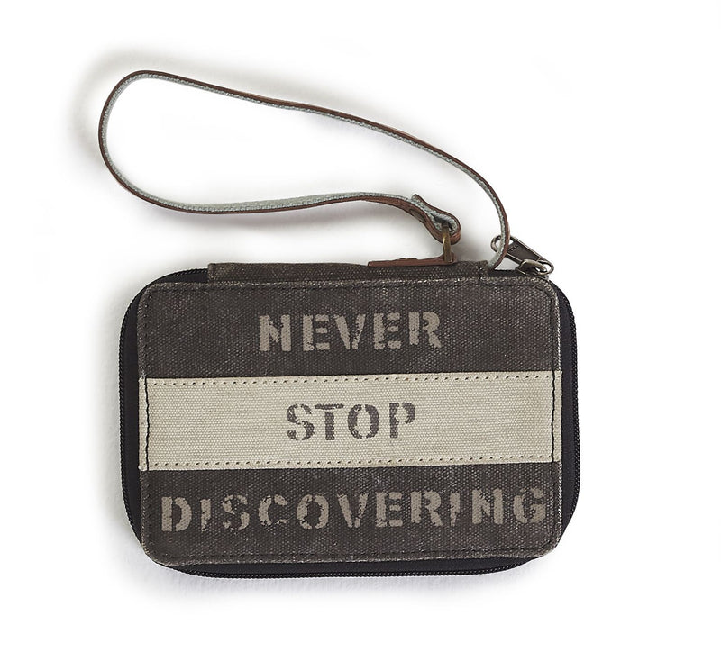 Never Stop Discovering - Wallet