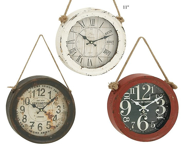 Hanging Round Wall Clock