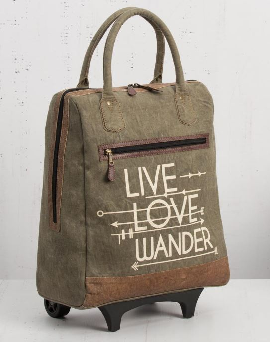 Live Love Wander Roller Bag