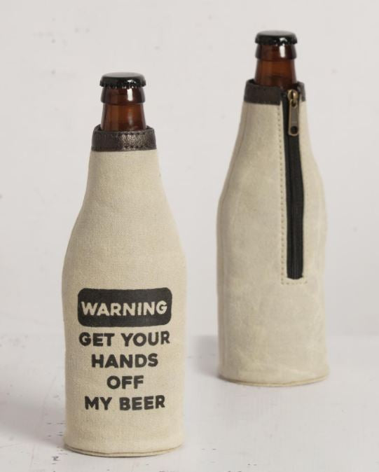 Warning - Bottle Koozie