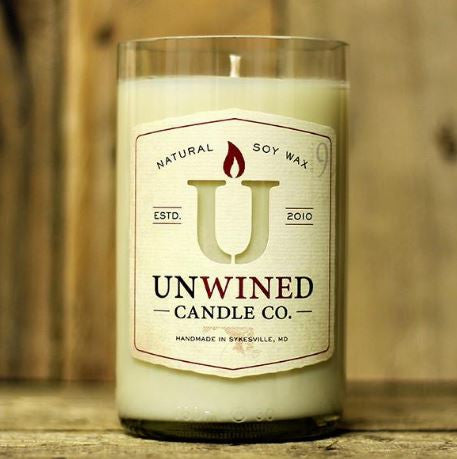 12 oz. UnWINEd Soy Candles - multiple scents