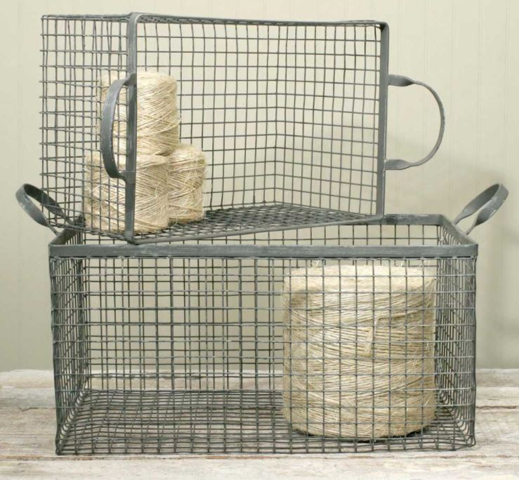 Wire Box Baskets