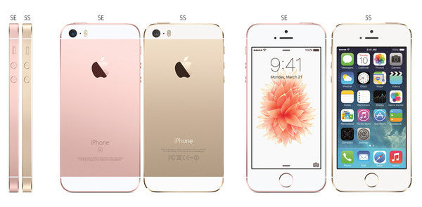 New! Apple iPhone SE and iPhone 5 Compared