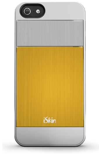 iSkin Aura for iPhone 5/5S/SE - Yellow