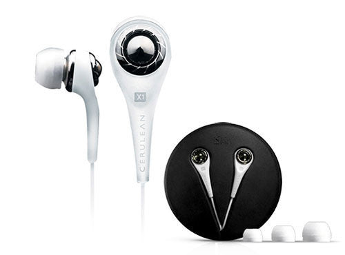 iSkin Cerulean X1 Earphones for iPad, iPhone, Mac