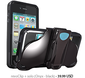 iSkin Duet for iPhone 4/4S (Black)