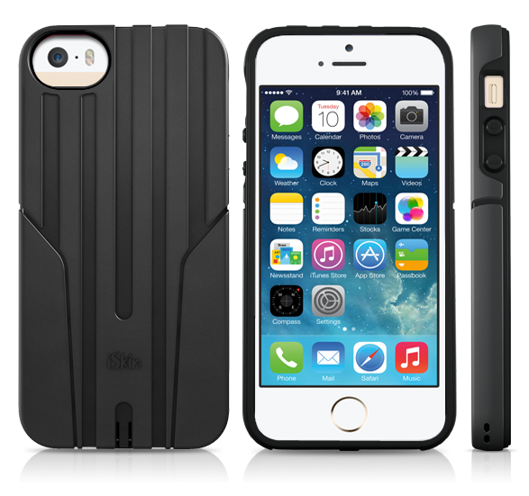 iSkin Exo for iPhone 5/5S/SE (Black)