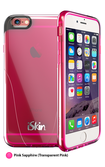 iSkin Claro for iPhone 6/6S (Pink)