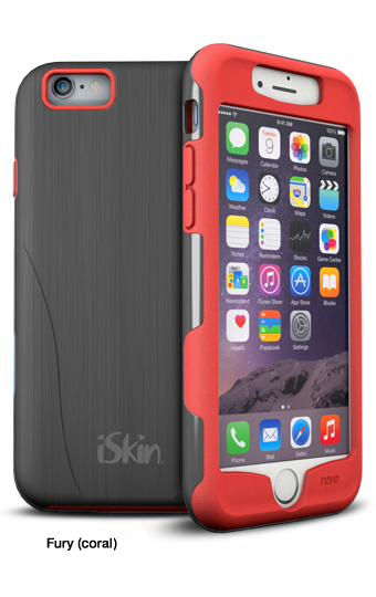iSkin revo Sport  for iPhone 6/6S Plus (Coral)