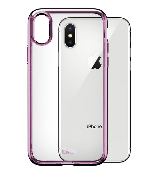 iSkin Claro SE for iPhone X - Rose Gold