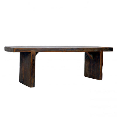 Timbers Slab Bench
