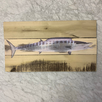 Rustic aquatic life prints