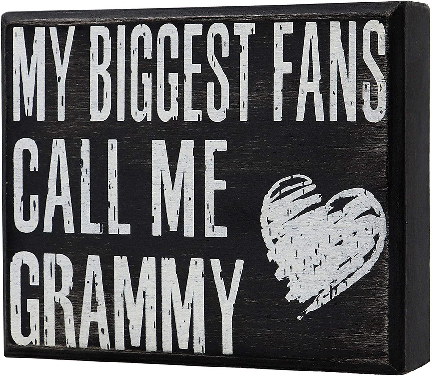 JennyGems - My Biggest Fans Call Me Grammy for Grammy, Birthdays, Positive Signs, Grammys Gifts,Shelf Knick Knacks