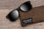 Fishing Sunglasses Floating Polarized Wayfarer Sunglasses / Smoke Black